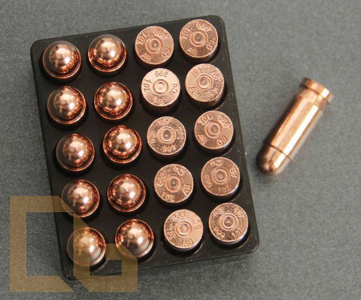 20 x PATRONE Cal .45 PISTOLE ACP - 1 Oz. Copper Bullet in Box