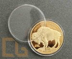 50$ USA 2011 - INDIANER BISON - 1 oz GOLD NP + Kapsel